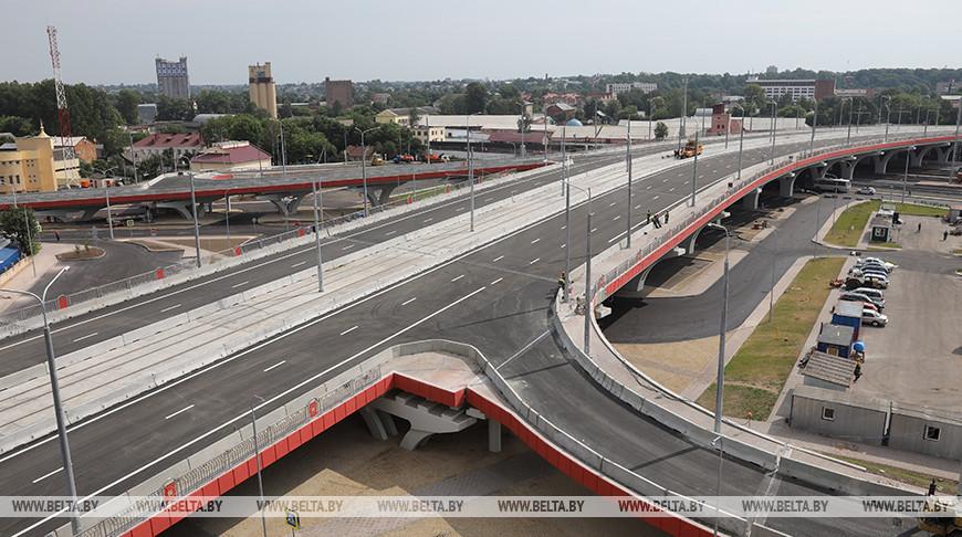 В Витебске завершают строительство Полоцкого путепровода