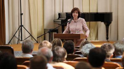 Кочанова встретилась с творческой интеллигенцией Беларуси