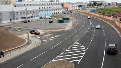 Обновленную улицу Шевченко открыли в Гомеле