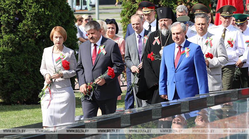 Митинг в честь Дня Независимости прошел в Гомеле