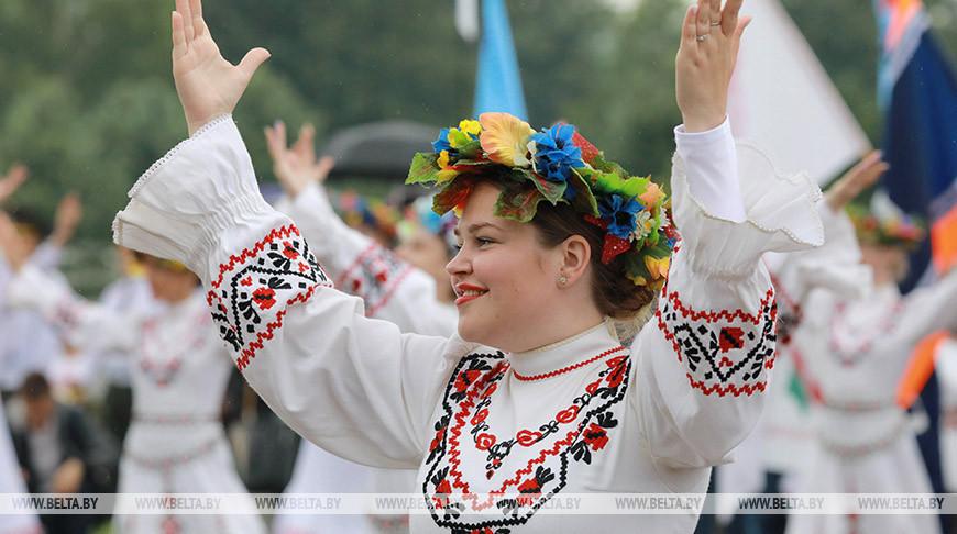 Митинг в честь Дня Независимости прошел на Буйничском поле