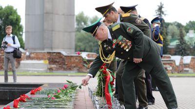 Церемония возложения венков прошла в Брестской крепости