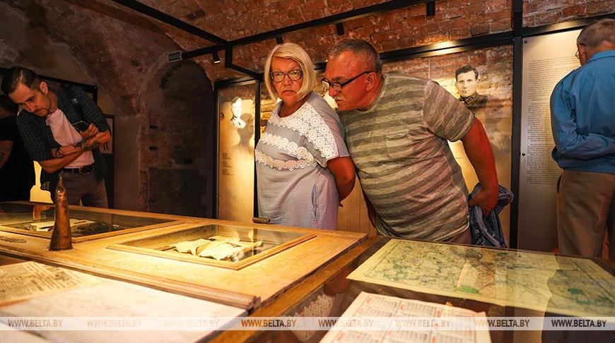 Новую музейную экспозицию открыли в Брестской крепости