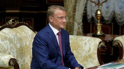 Лукашенко провел встречу с главой Сбербанка России Грефом
