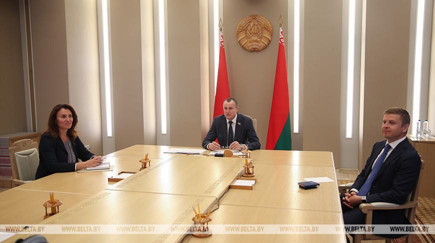 Исаченко провел встречу с исполнительным директором Дортмундского международного образовательного центра Астрид Зам