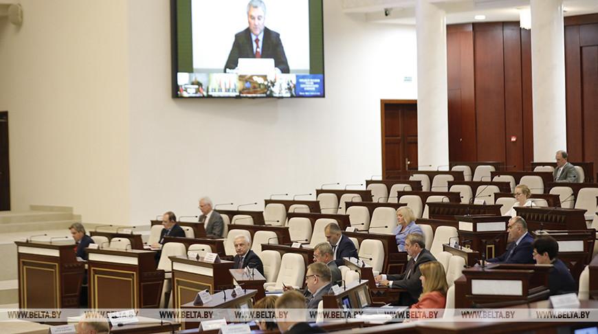 Союзные парламентарии обсудили выполнение плана мероприятий к 75-летию Великой Победы