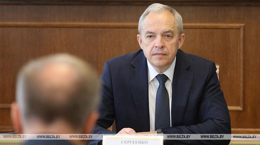 Сергеенко провел выездной прием граждан в Шарковщине