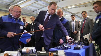 Головченко посетил завод БАТЭ