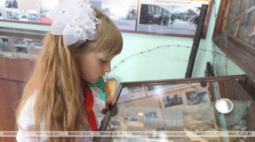 В Могилевском районе открыли экспозицию к 75-летию Победы
