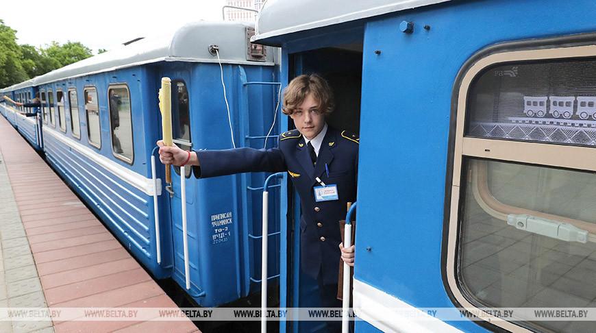 Детская железная дорога открыла 65-й юбилейный сезон