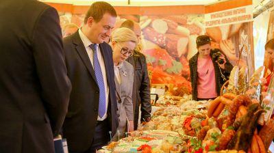 Турчин ознакомился с работой кооперативной торговли в Копыле