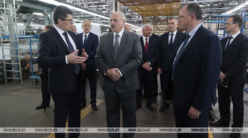 "Лукашенко посетил ЗАО ""Атлант"""