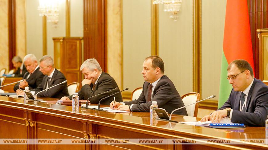 Премьер-министры Беларуси и России намерены подписать пакет документов в энергетической сфере