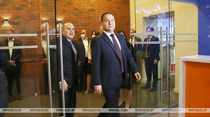 Головченко посетил Федеральную налоговую службу России