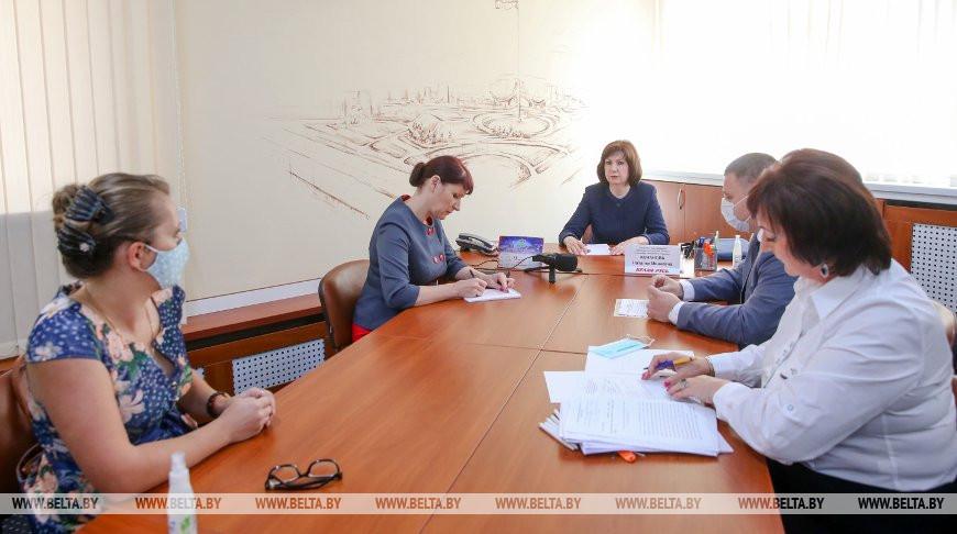 Кочанова провела прием граждан