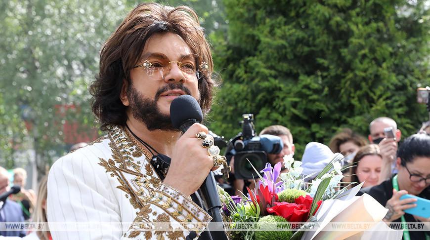Звезда Филиппа Киркорова зажглась в фестивальном Витебске