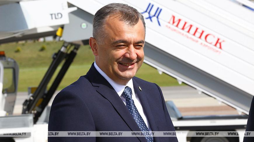 Премьер-министр Молдовы прибыл в Минск