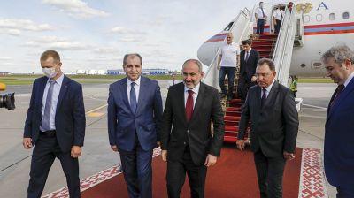 Пашинян прибыл в Беларусь
