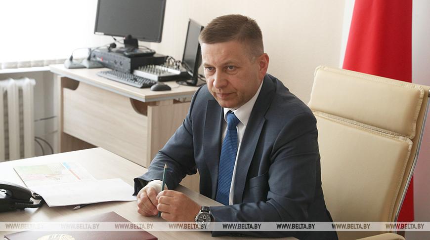Лавринович провел прямую линию в Щучине