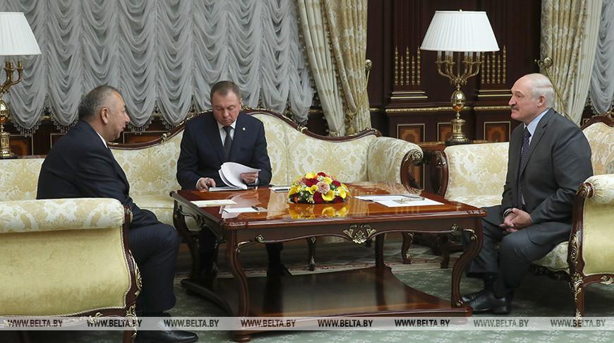 Лукашенко встретился с премьер-министром Кыргызстана Кубатбеком Бороновым