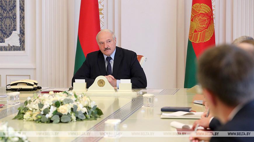 Лукашенко встретился с руководством Национального банка в рамках принятия кадровых решений