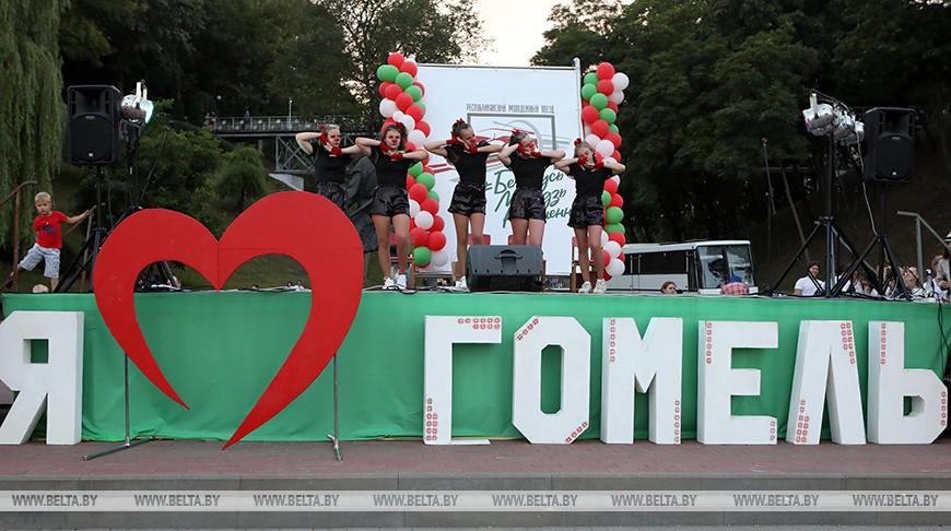 Участники молодежного поезда посетили Гомель