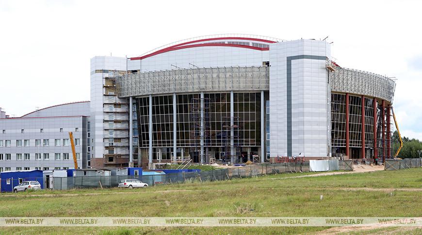 """Строительство Мозырского ФОЦ """"Полесье-Арена"""" находится в завершающей стадии"""