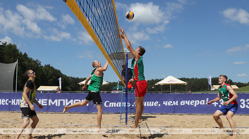 Первый чемпионат области по пляжному волейболу прошел под Гродно