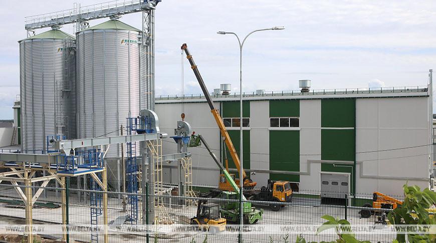 В Мозыре завершается строительство пеллетного завода