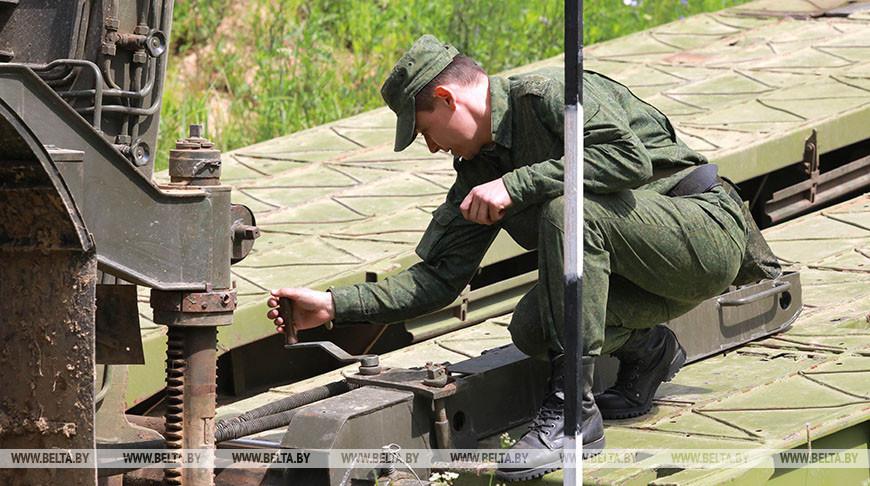 Полевые сборы проходят в 188-й гвардейской инженерной бригаде