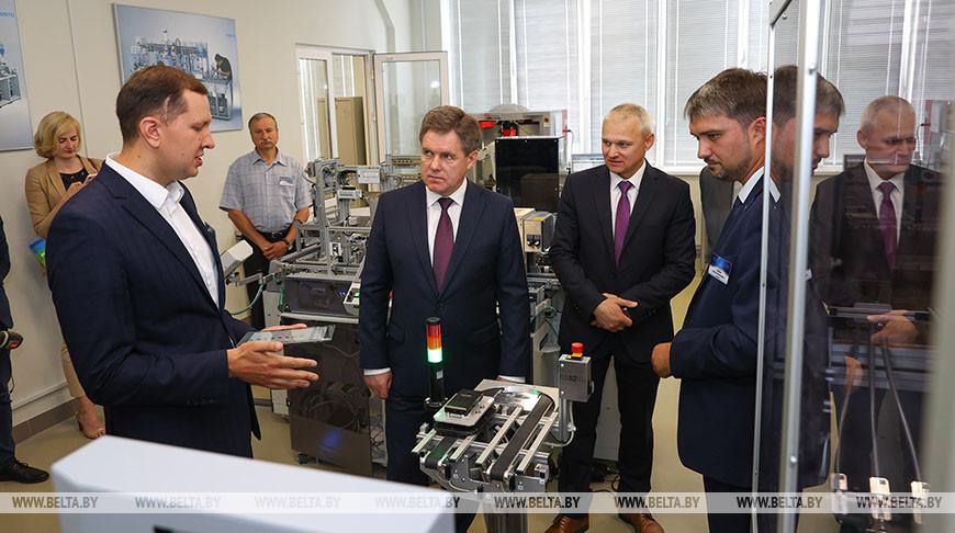Петришенко посетил колледж современных технологий в машиностроении и автосервисе