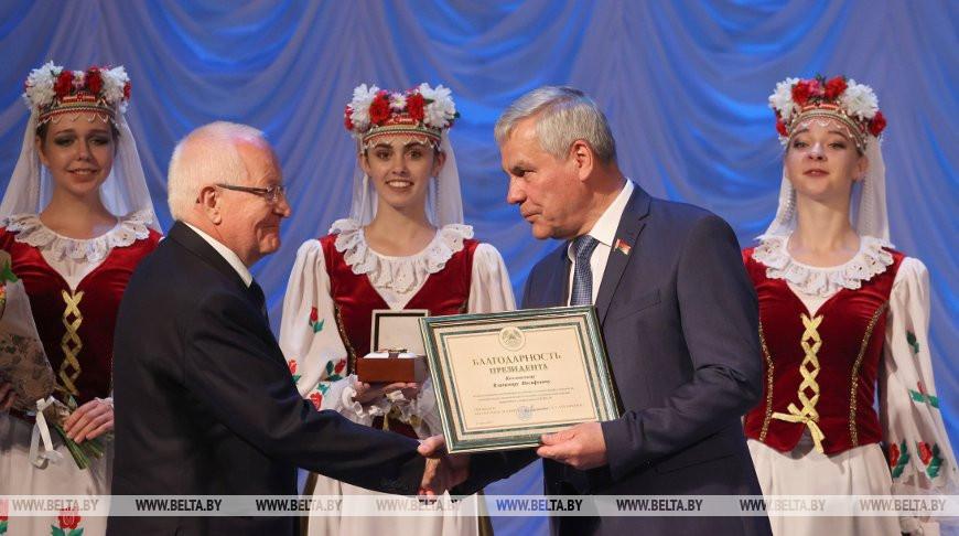 Андрейченко принял участие в церемонии чествования медработников Витебской области