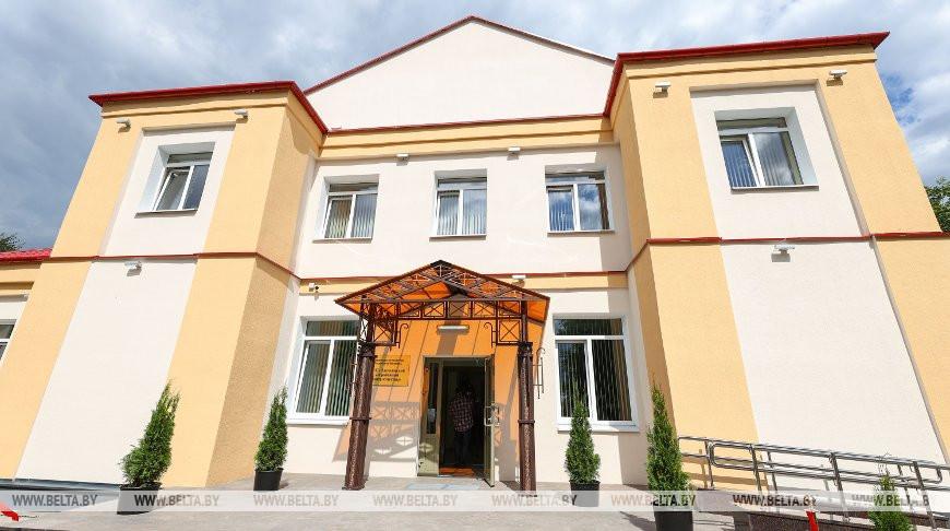 В городском поселке Плещеницы после капремонта открыли центр культуры