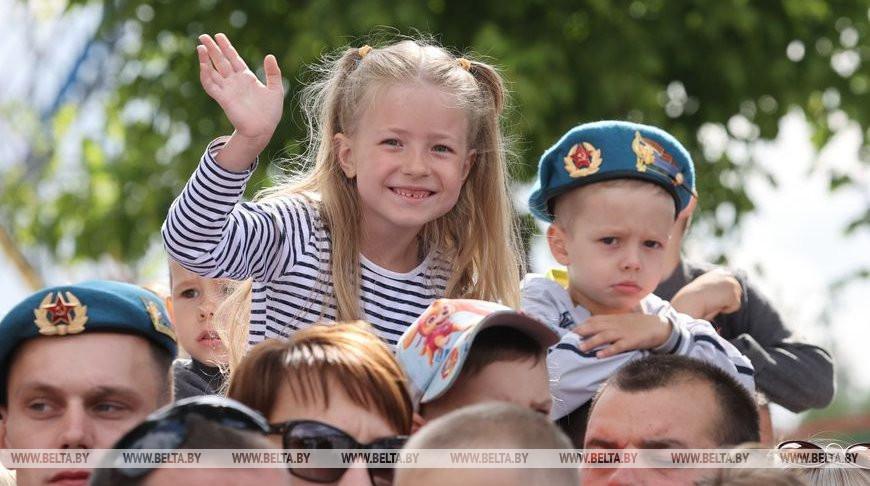 День десантников и сил специальных операций отметили в Витебске