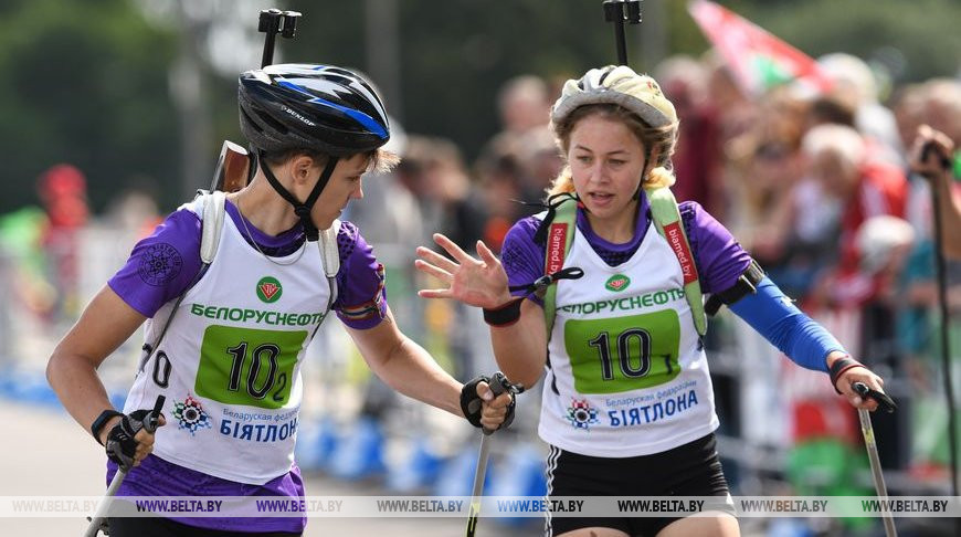 Соревнования Кубка Белорусской федерации биатлона прошли на новой трассе в Чаусах