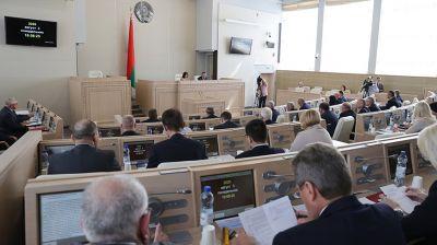 Совет Республики открыл внеочередную сессию