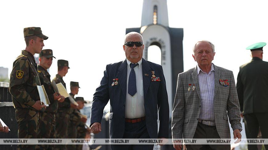 """Акция """"Ветераны за мир и спокойствие"""" прошла в Минске"""