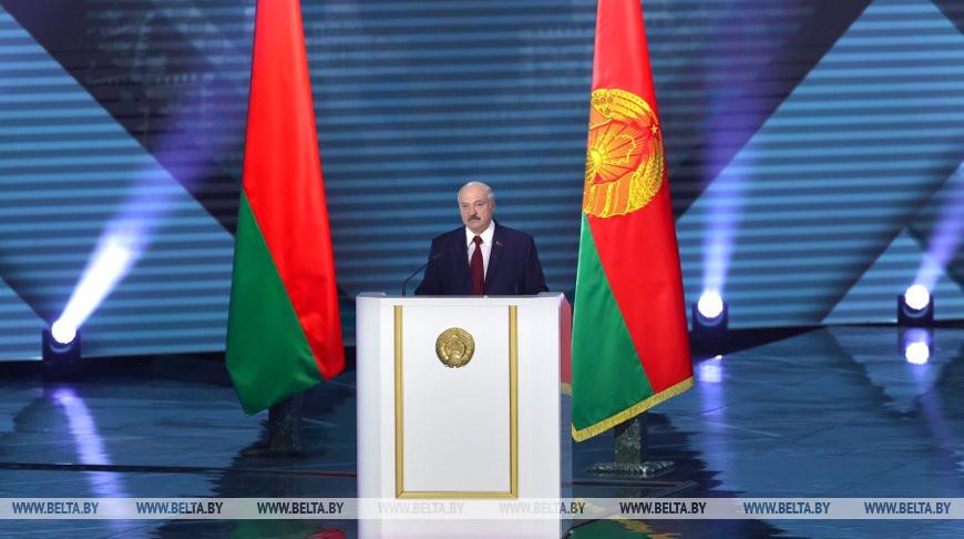 Лукашенко обратился с ежегодным Посланием к народу и Национальному собранию