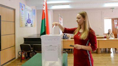 Досрочное голосование проходит в Минске