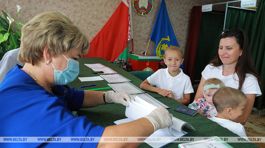 Досрочное голосование проходит в Могилевской области