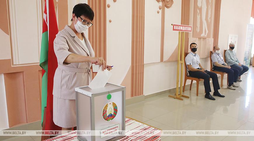 Досрочное голосование проходит в Гомеле