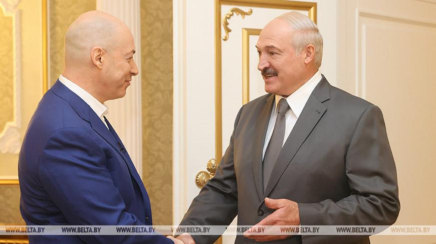 Лукашенко дал интервью известному украинскому журналисту Дмитрию Гордону