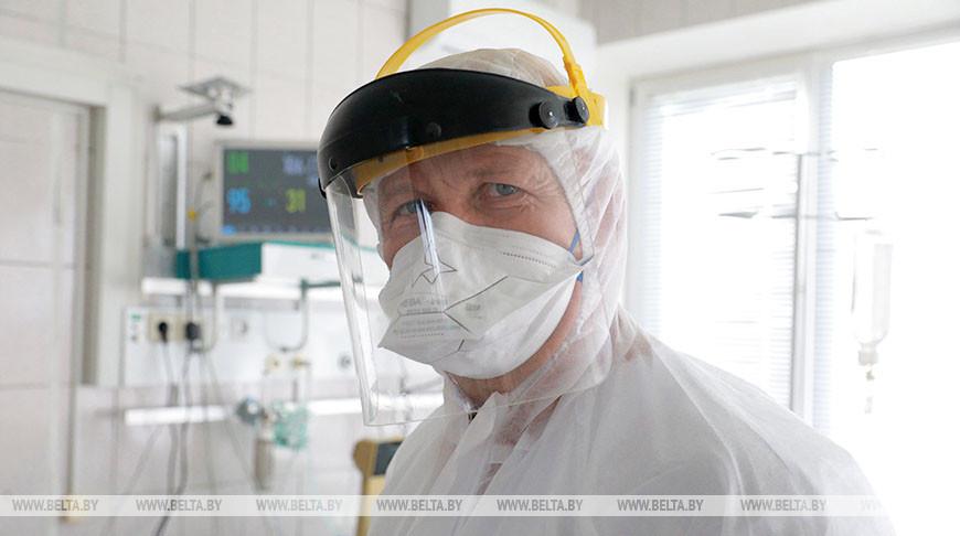 Анестезиолог Могилевской больницы №1 Валерий Кононков удостоен Благодарности Президента