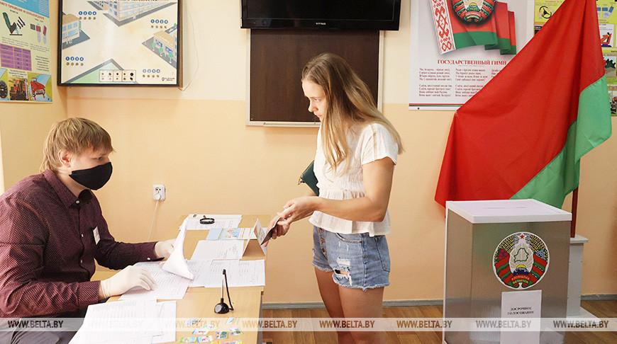 Досрочное голосование проходит в Новополоцке