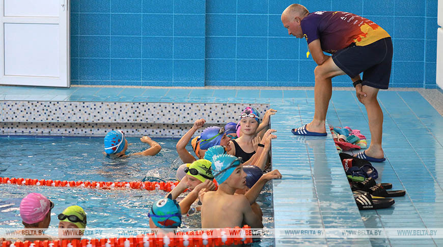 Обновленный школьный бассейн открыли в Могилеве