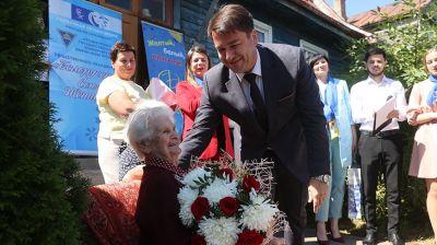 Новый паспорт в 100-летний юбилей вручили ветерану войны из Гродно