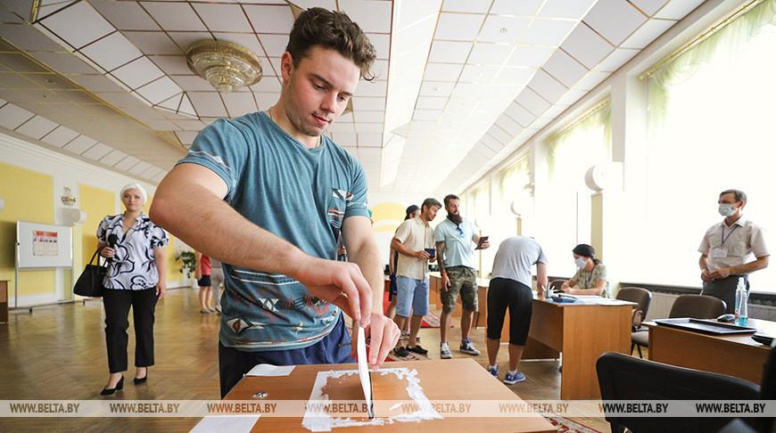 В Бресте продолжается досрочное голосование