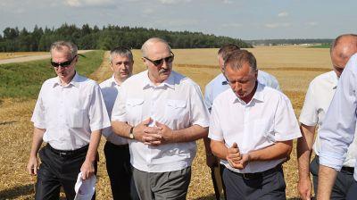 """Лукашенко посетил ОАО """"Гастелловское"""""""