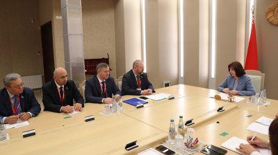 Кочанова встретилась с наблюдателями от МПА СНГ