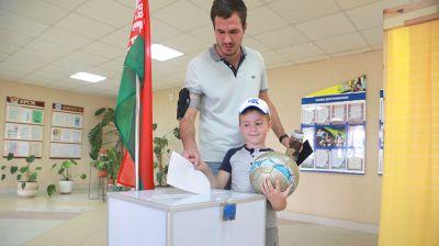 Досрочное голосование в Могилеве